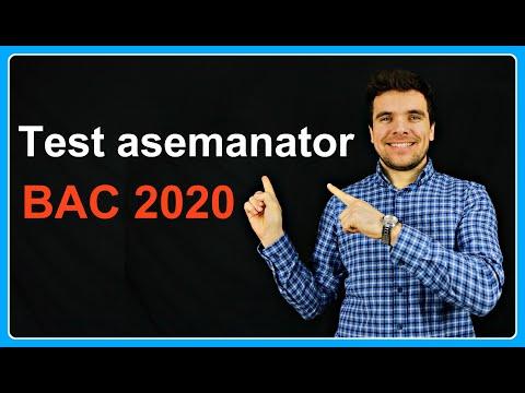 Test Asemănător Cu Cel De La BAC 2020 | Examen.md