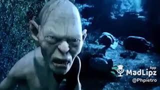 Imitazione comica Gollum (Il Signore degli anelli)