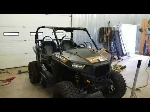 2018 rzr 900 trail chopped roll cage