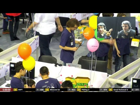 2018 ICPC World Finals, Spanish broadcast