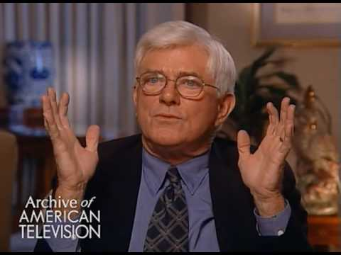 Phil Donahue on his Jimmy Hoffa interview -EMMYTVLEGENDS.ORG