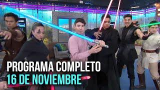 Cinescape 16 de noviembre (programa completo)