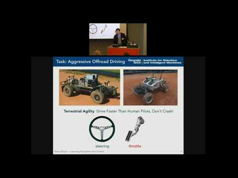 LMSS @ Cornell Tech: Byron Boots / Learning Perception and Control for Agile Off-Road Autonomous ...