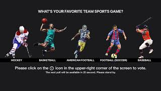 What's Your Favorite Sports Game?