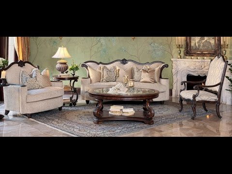 Victoria Palace Living Room Collection by AICO Furniture