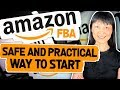 AMAZON FBA SOURCING | SAFE AND PRACTICAL WAY TO START