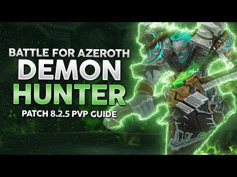 BFA | Demon Hunter PvP Guide - Best DPS Class To Climb Rating