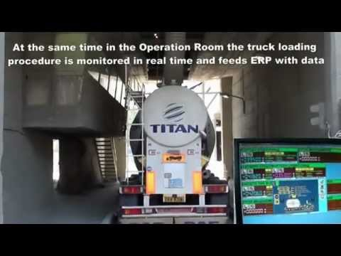 AWIS   Cement Truck Loading System   YouTube