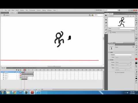 ALAN BECKER - Stick Figure Animation 2