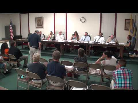 2015-07-27 Tabernacle Township Committee Mtg