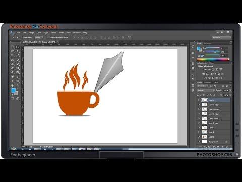 Photoshop CS6: Vẽ tách trà 2D bằng pen tool [Beginner]