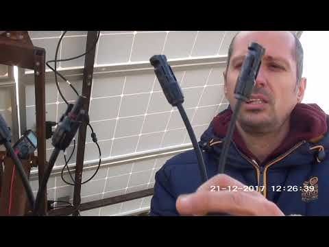 Reconectarea panourilor fotovoltaice din paralel in serie/paralel