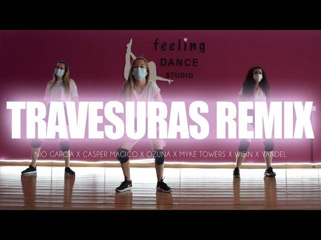 TRAVESURAS REMIX - Nio García x Casper Magico x Ozuna x Myke Towers x Wisin x Yandel