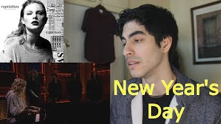 New Year's Day (Jimmy Fallon LIVE) - Taylor Swift [REACTION]