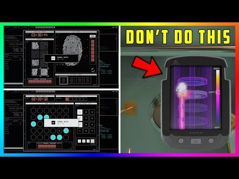 How To Hack Fingerprint Scanners & Crack Vault Doors FASTER During The Diamond Casino Heist! (GTA 5)