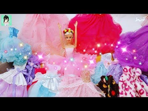 👗👠 Barbie Wish Haul Review Cheap Dresses  for Barbie Dolls Ami Channel