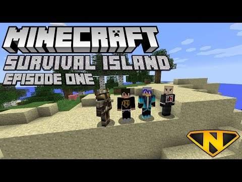 The Beginning! (Minecraft: Survival Island #1)