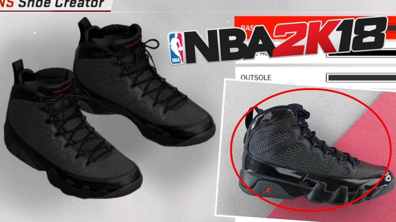 NBA 2K18 Shoe Creator | Air Jordan 9