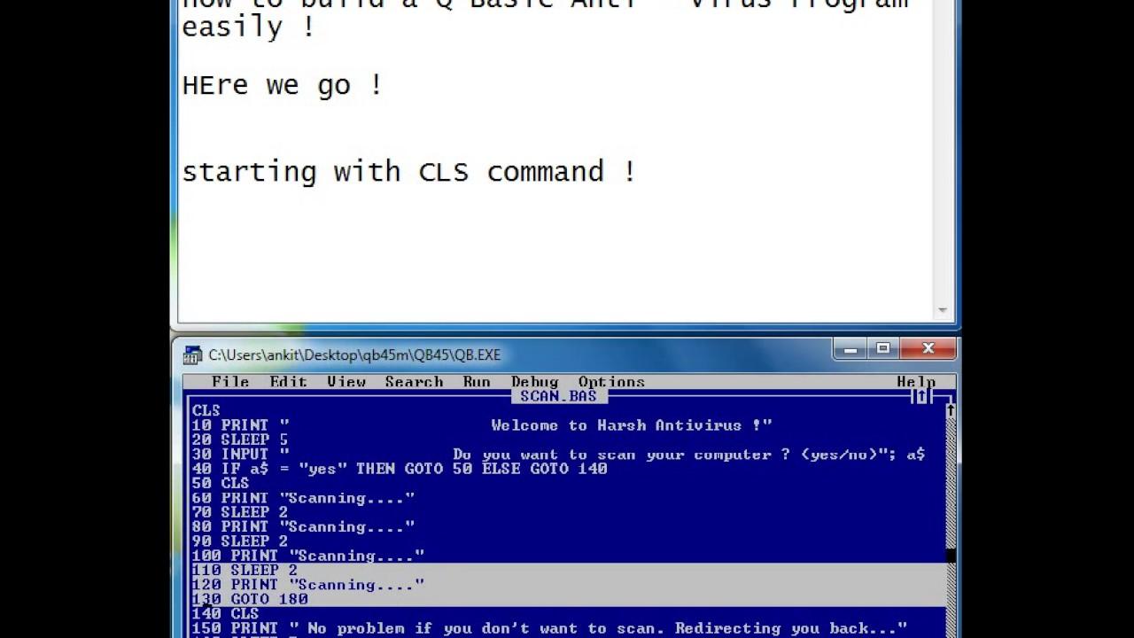 Antivirus software: video compilation