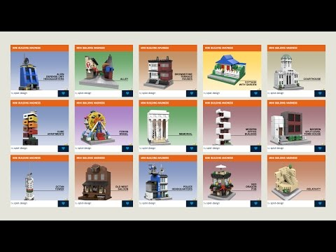 Mini Building Madness Contest 2017 Entries - Mini Modulars