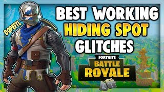 POINTS DE CACHETTE SECRET (EN ANGLAIS) Fortnite Battle Royale - France DOPE HIDING SPOTS / GLITCHES ON FORTNITE