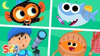 Super Simple Kids Cartoon Collection # 2!
