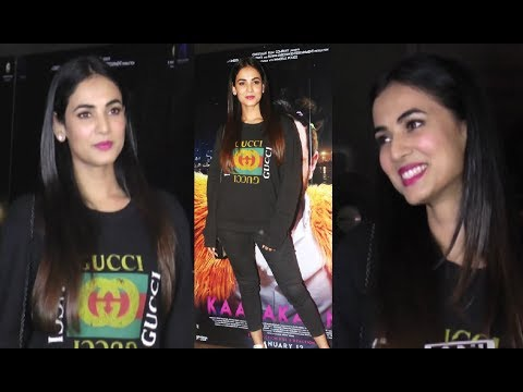Sonal Chauhan Interview At Kaalakaandi Special Screening