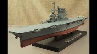 模型 アメリカ海軍 航空母艦 レキシントン 1/1250 ALTAS