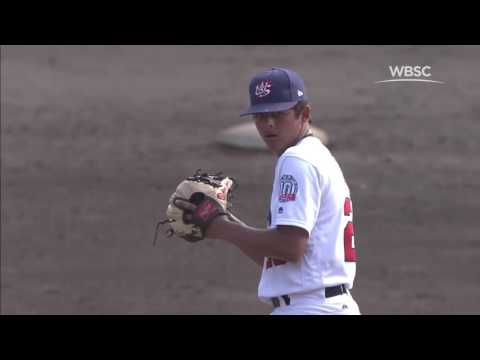 Highlights: USA v Cuba - WBSC U-15 Baseball World Cup 2016