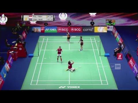 Tampil Gemilang, Indonesia Juara Thailand Open, Grand Prix Gold 2017