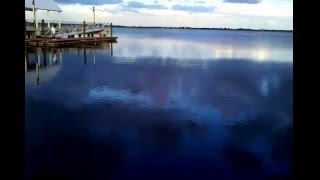 Kissimmee Lake Front  Double Worlds   ( the water mirrors the sky)