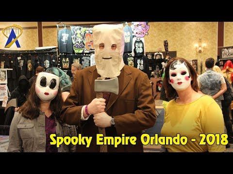 A look at Spooky Empire, spring 2018 convention in Orlando, Florida