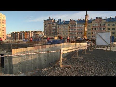 Строительство нового здания городского суда в Череповце