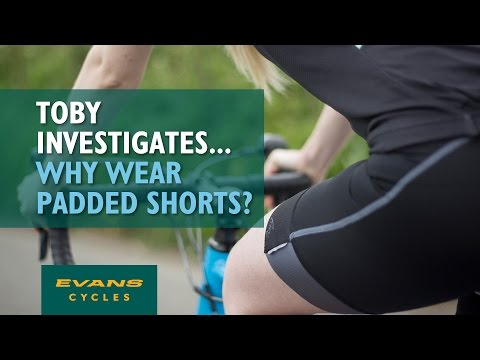 Why Wear Padded Cycling Shorts?. Toby Investigates