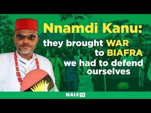 Exclusive talk with Nnamdi Kanu on Biafra agitation
