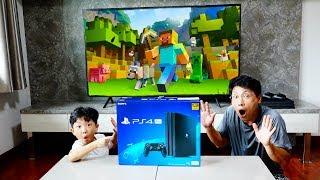 예준이와 아빠의 집에 게임룸 만들기 플레이스테이션 마인…