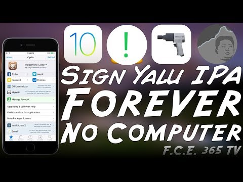 How To Sign Yalu Jailbreak IPA Forever (No Computer)