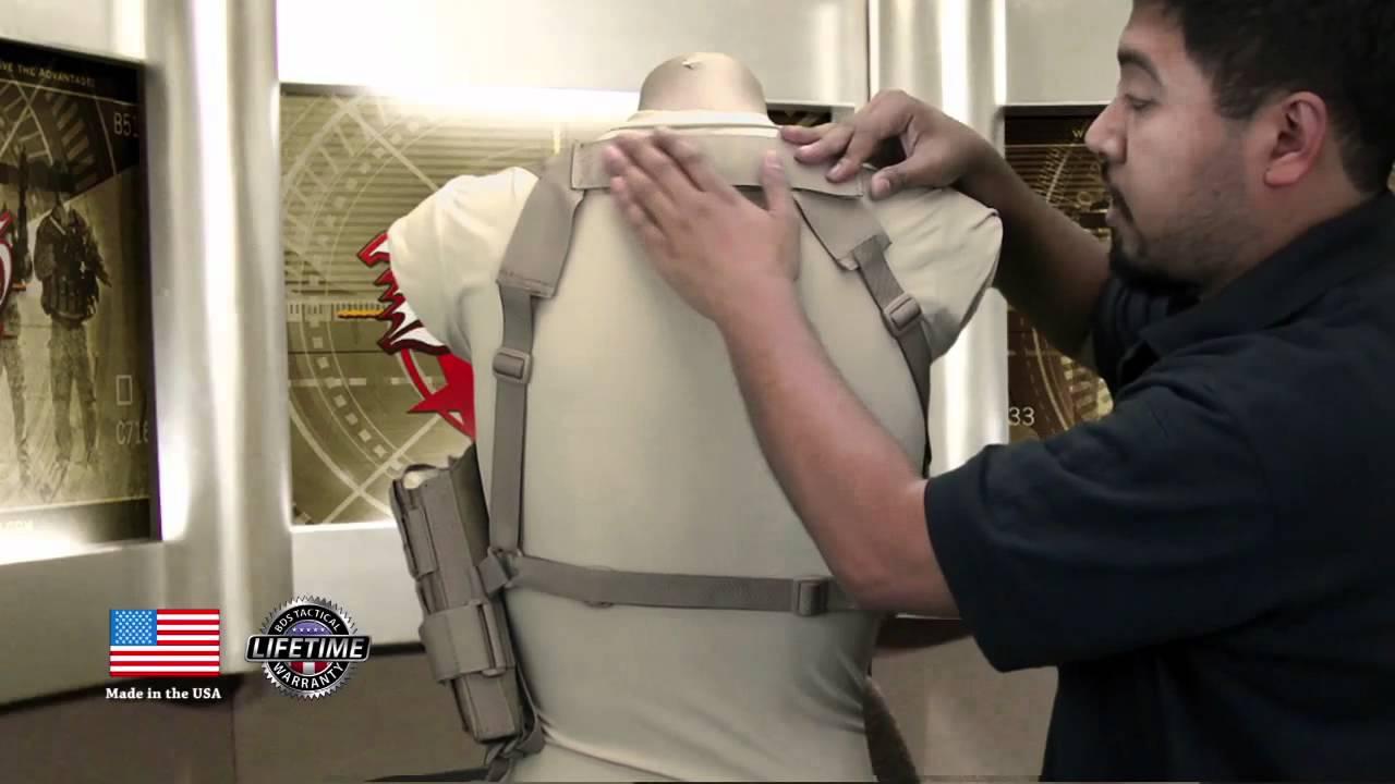 Tactical Vertical Shoulder Holster