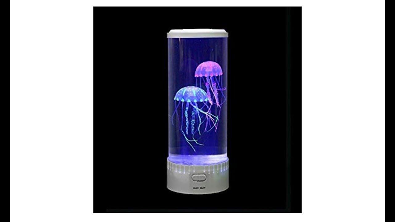 Jellyfish Aquarium Lamp Anti Stress Therapy Youtube