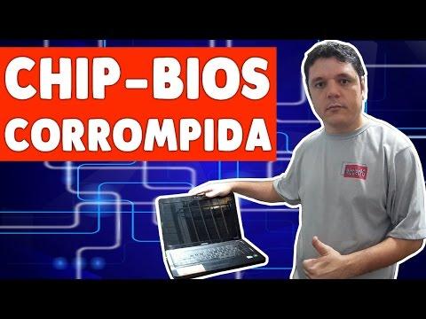 GRAVAÇÃO DE BIOS PROCESSO COMPLETO - Notebook Laptop Não Liga Morto.