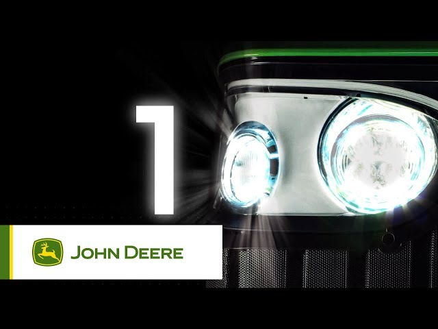 100 års John Deere tractor 2018