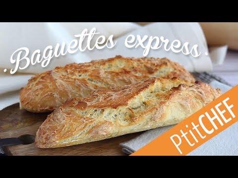 recette-de-baguette-de-pain-express-sans-pétrissage---ptitchef.com