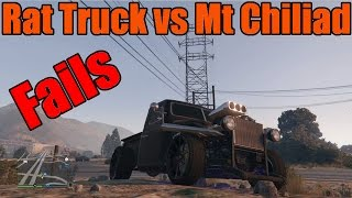 GTA 5 | Xbox One/PS4 | Rat Truck vs Mt Chiliad (with Fails!) Christmas Update