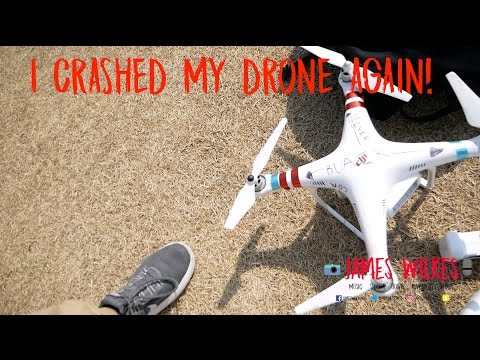 VLOG 13 - I CRASHED MY DRONE AGAIN