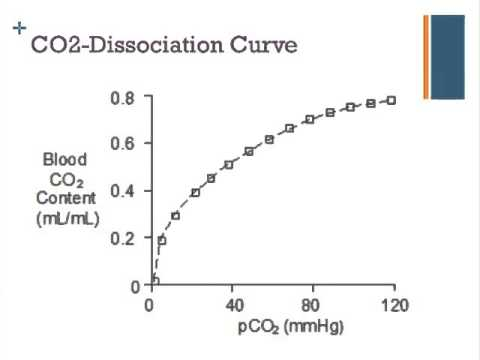 Oxygen and Carbon Dioxide Dissociation Curves