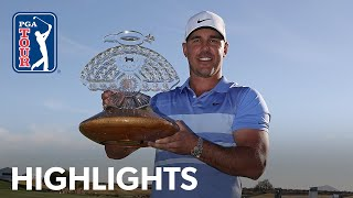 Brooks Koepka's winning highlights from Waste Management | 2021