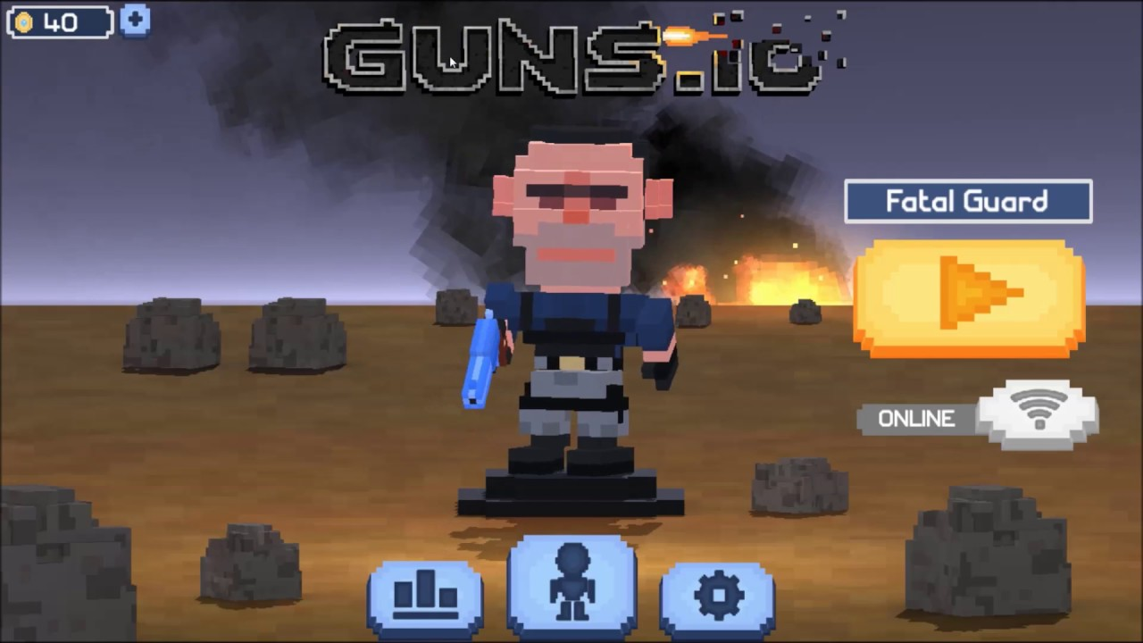 Guns Io Survival Shooter Android Game First Look Gameplay Espanol