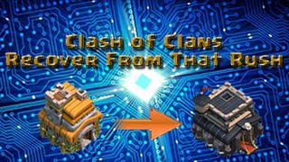 Clash of Clans: Recover From That Rush | Episode 2 w/ Krazy Gamer!