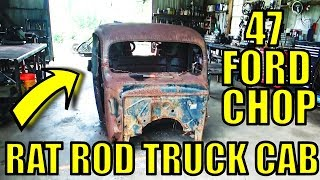 47 Ford Rat Rod Truck - More Cab Work