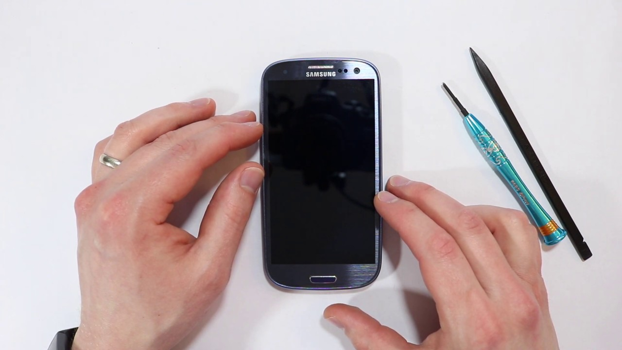 How To Remove Sim Card From Galaxy S3 Sprint SAMSUNG GALAXY